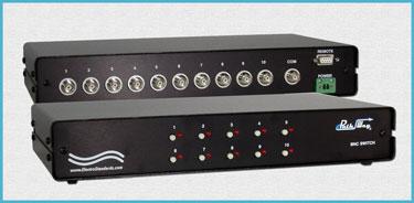 Model 7206 10-Position BNC Switch