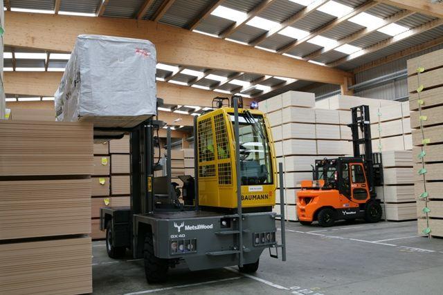 Sideloader & Counterbalance Forklift