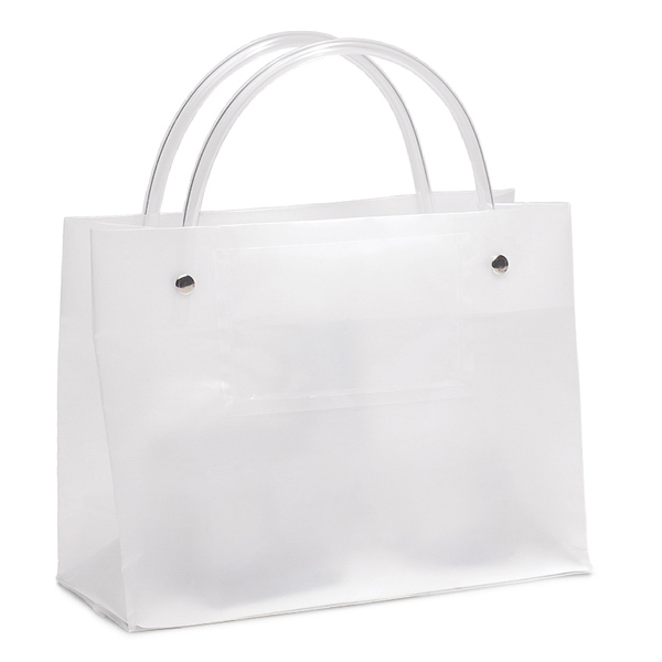 Frosted Shopping Bags