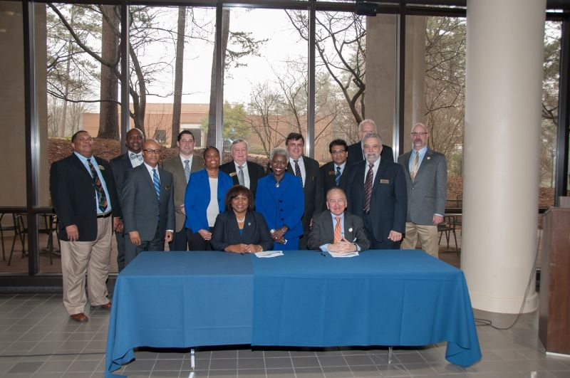 Atlanta Technical College and Clayton State University Signing Ceremony