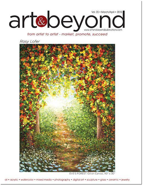 Art & Beyond March/April Cover 2015