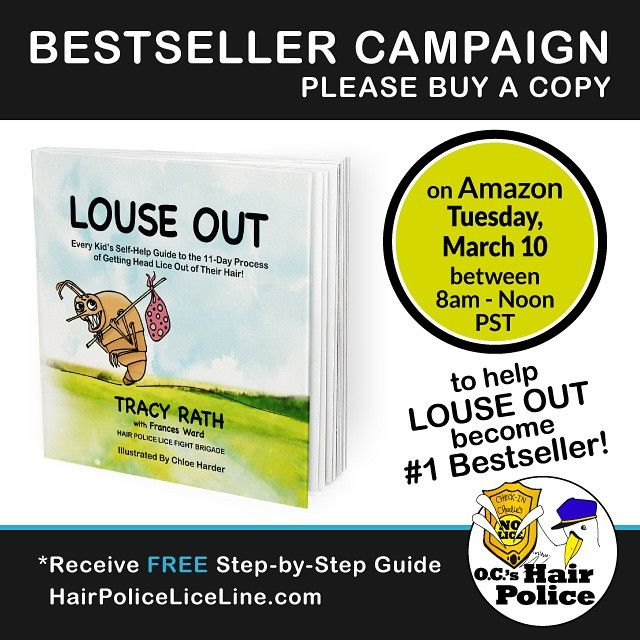 Louse Out Amazon #1 Bestseller