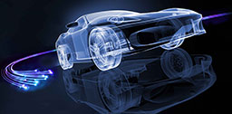 RAYTELA fiber solutions for Automotive
