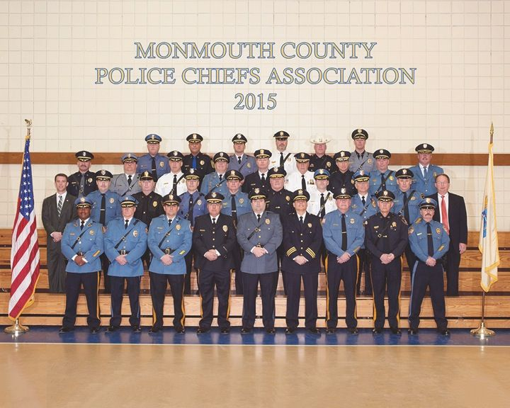 Members of the Monmouth County Police Chiefs Association