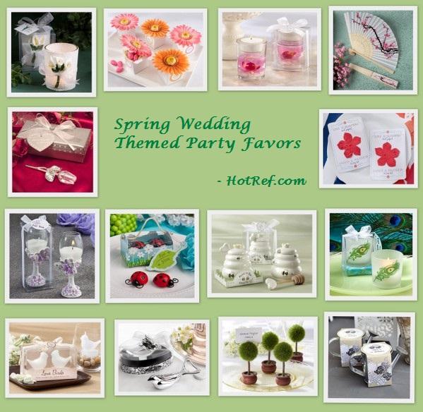 Spring Wedding Themed Party Favors - HotRef.com