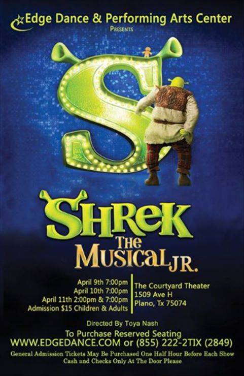 Toya Nash, Founder of Coach Your Craft  Directs Shrek The Muscical Jr.