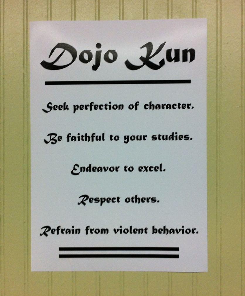 Dojo Principles