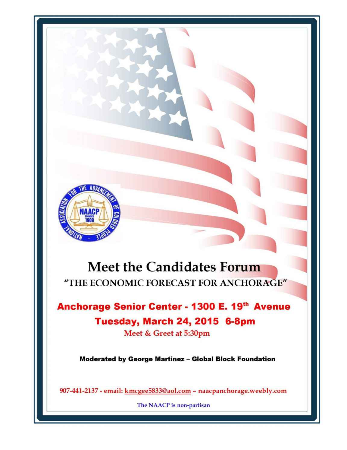 NAACP Anchorage Mayoral Candidates Forum