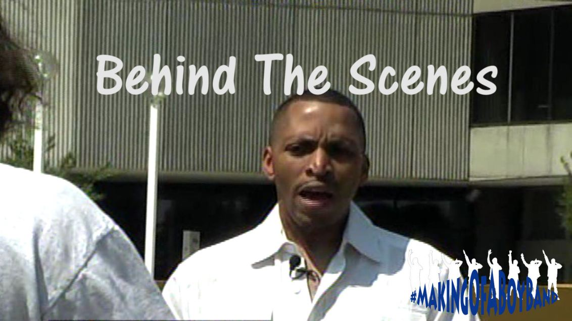 Behind The Scences Still (Darrin Scorpio Campbell)
