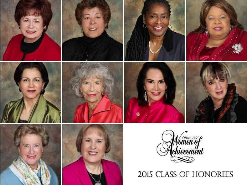 Extraordinary Volunteers: Women of Achievement's 2015 Class of Honorees
