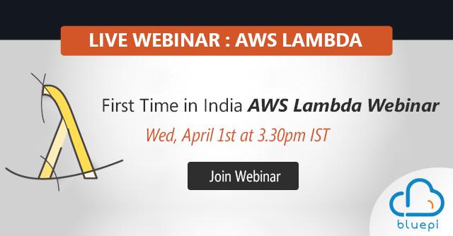 Webinar - AWS Lambda