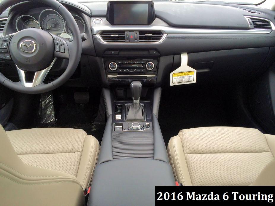 2016 Mazda 6 Interior at Preston Mazda