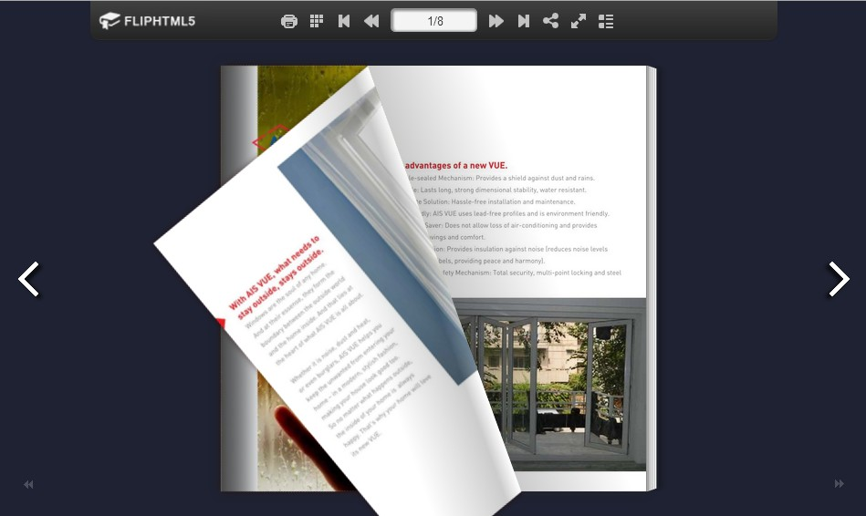 The next generation online brochure maker for enterprises fliphtml5 fliphtml5 software co for Brochure maker online