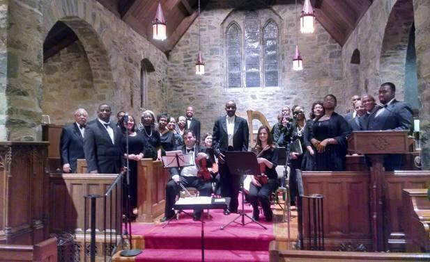 """The Trinity Chancel Choir in Dubois' """"The Seven Last  Words."""""""
