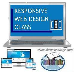 Responsive Web Design Class at Community Business College