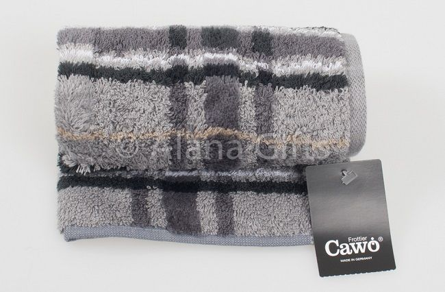 Noblesse Check Grey Towel