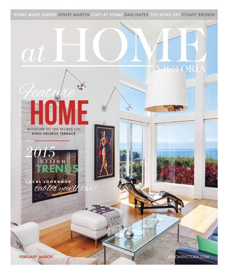 atHOME Victoria magazine - Premiere Issue