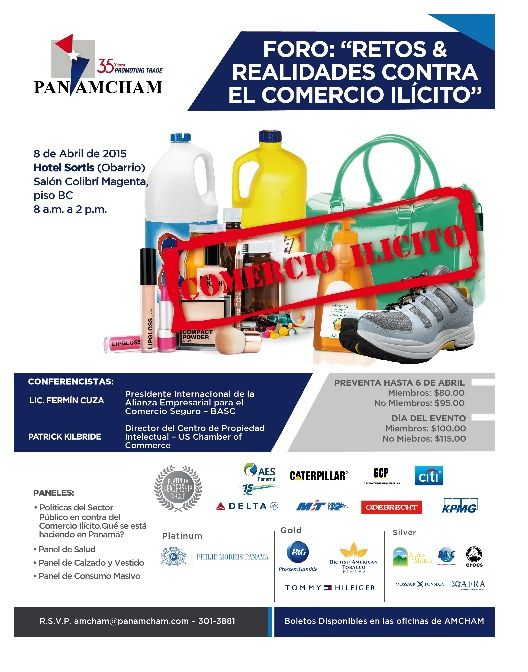 Abril 8 Foro AMCHAM Trade and Investment Forum 5in