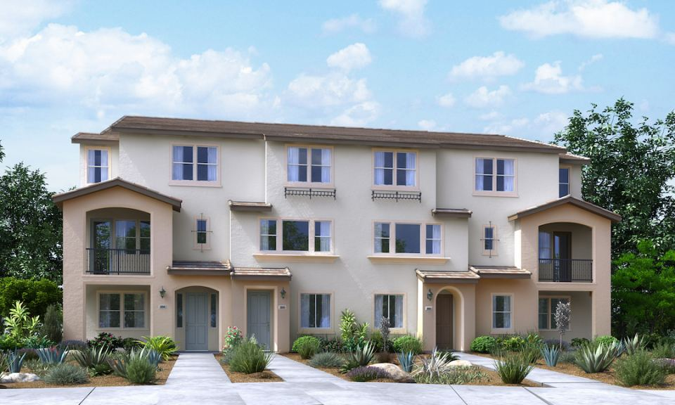 Luxury lennar townhomes opening in san jose lennar prlog for 3 story townhomes
