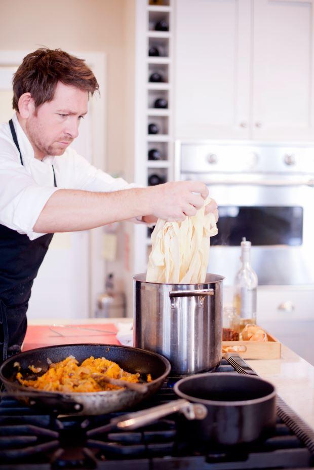 Chef Dan Hayes for atHOME Victoria Magazine