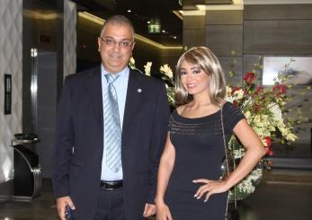 Ahmad Al Araj, Hotel Manager with Ms. Dima Aljundi