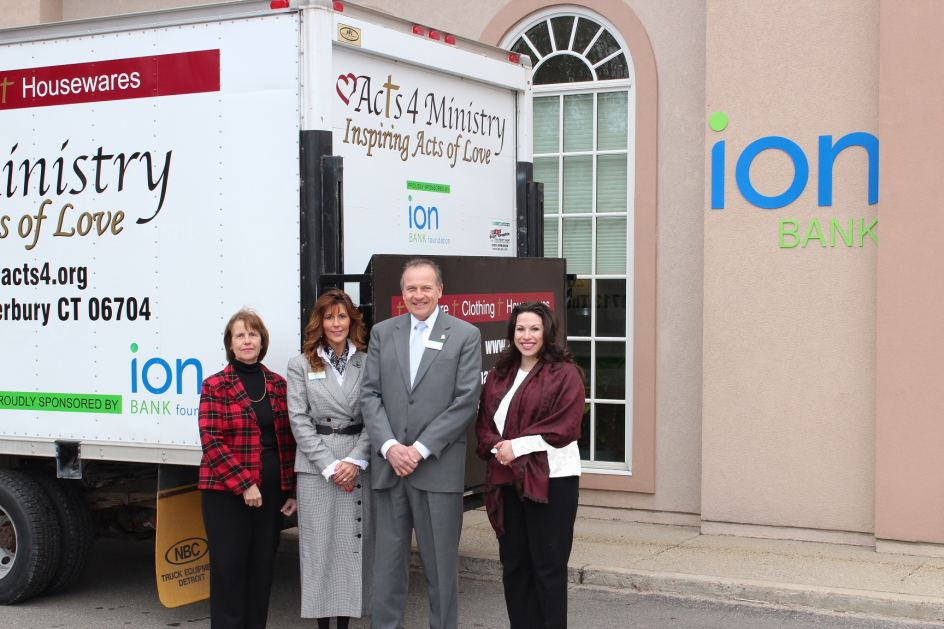 Unveiling of Acts 4 Ministry Truck Purchased Through Ion Bank Foundation Grant