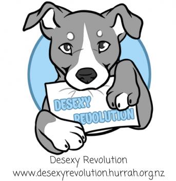 HURRAH-Desexy Revolution-Logo