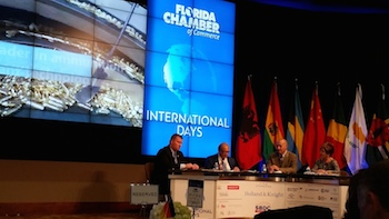 Florida Chamber International Days in Tallahassee