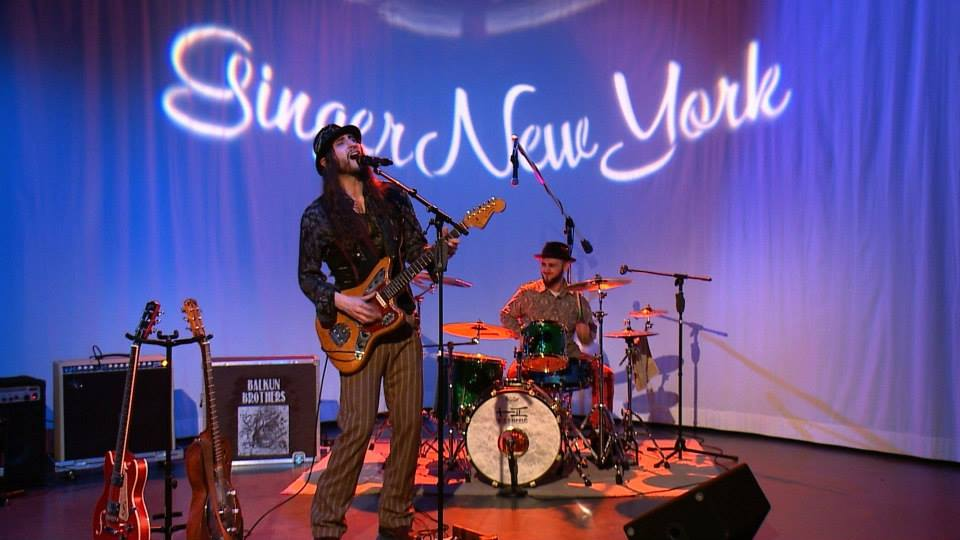 The BALKUN BROTHERS - Steve and Nick Balkun on the GingerNewYork TV Show in NYC