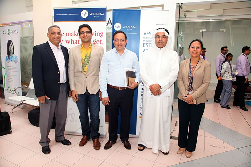 VFS Global Holds Blood Donation Camp At Wafi Mall in Dubai -- Marketing Pro  Junction | PRLog