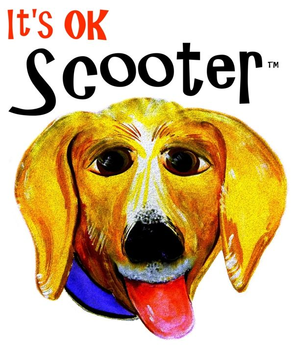 It's OK Scooter™ - Fictional Children's Book