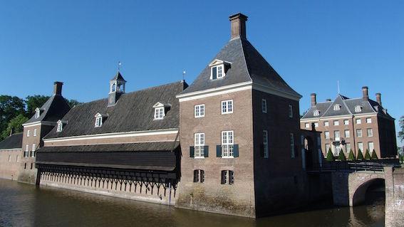 Kasteel Amerongen. Photo credit to www.buitenplaatsamerongen.nl