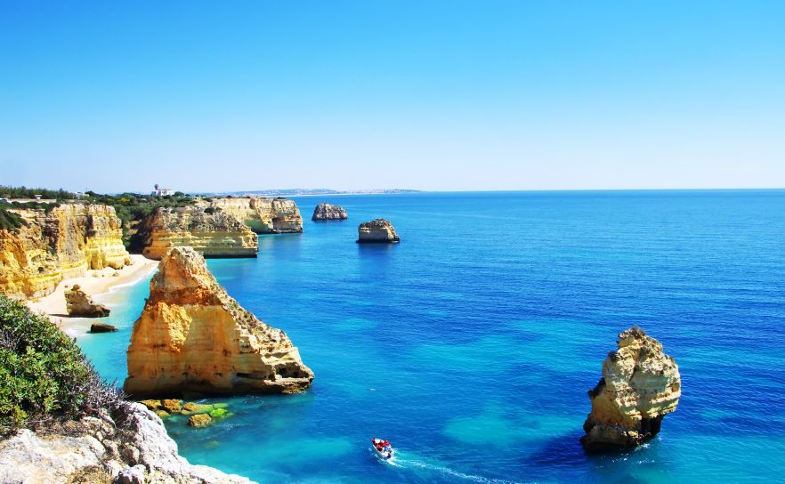Algarve is Portugal's southernmost region