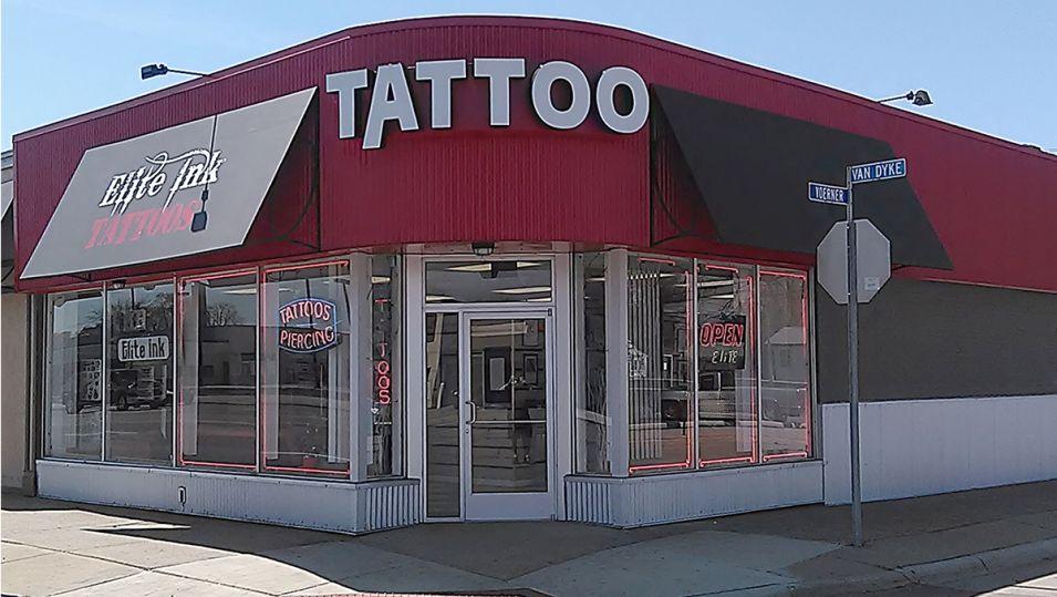 Elite Ink Tattoo Studio Centerline, MI.