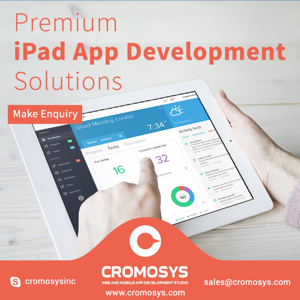 Outsource iPad App Development Solutions