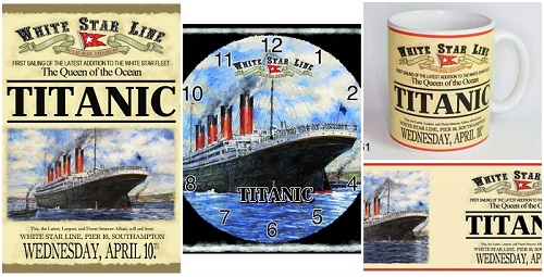 TitanicWhiteStarLineCollage