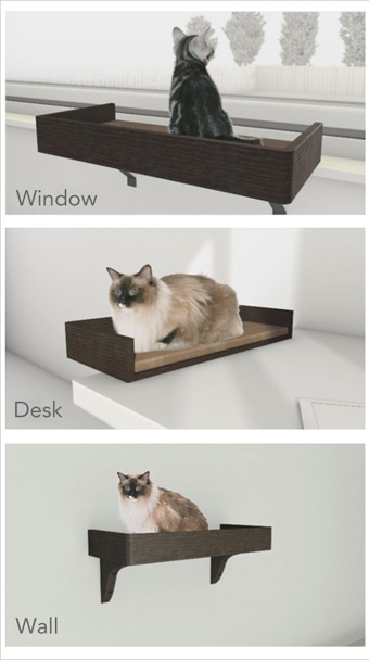 Kitt-in Box 3-in-1 Cat Bed