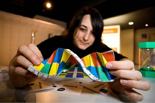 DNA origami by Alex Bateman at the Sanger