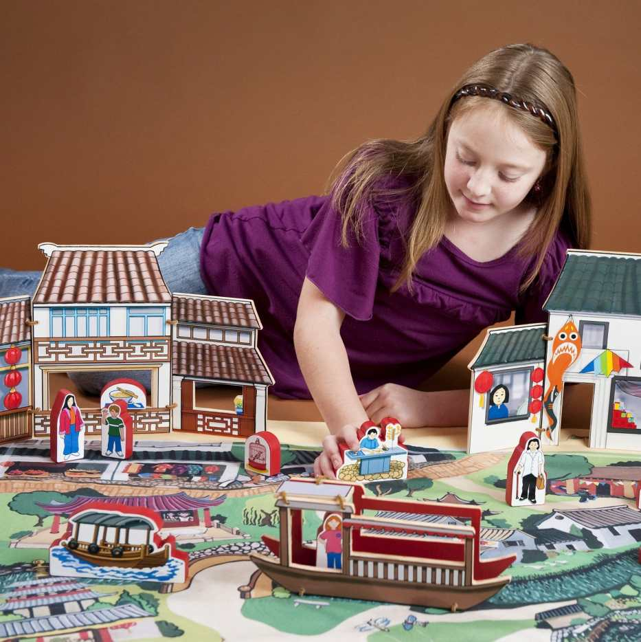 World Village Playset - China