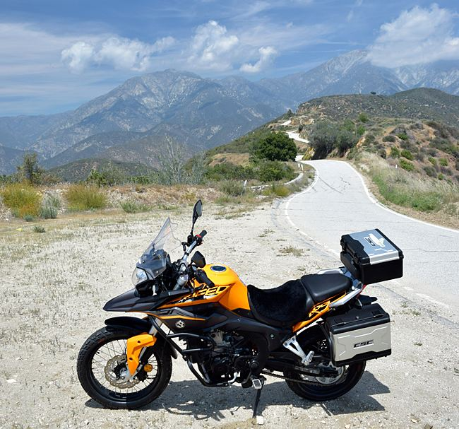 The CSC RX3 Adventure Touring Motorcycle