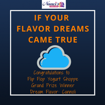 Winner of If Your Flavor Dreams Came True contest