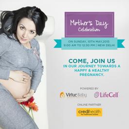 VirtueBaby celebrates Mother's Day in Delhi NCR