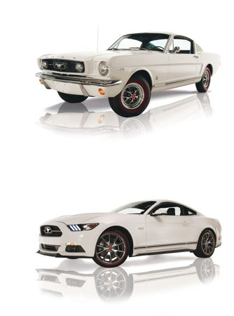 These two collectible Mustangs plus $30K, will go to one winner.