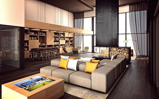 The Wyatt's entry - new apartment community in Southwest Las Vegas