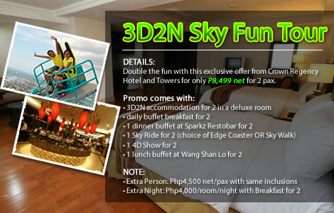3D2N Sky Fun Tour
