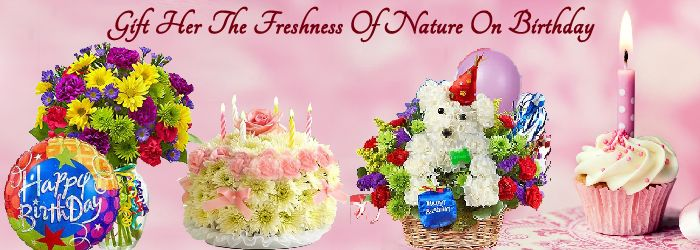 Gift Her The Freshness Of Nature On Birthday