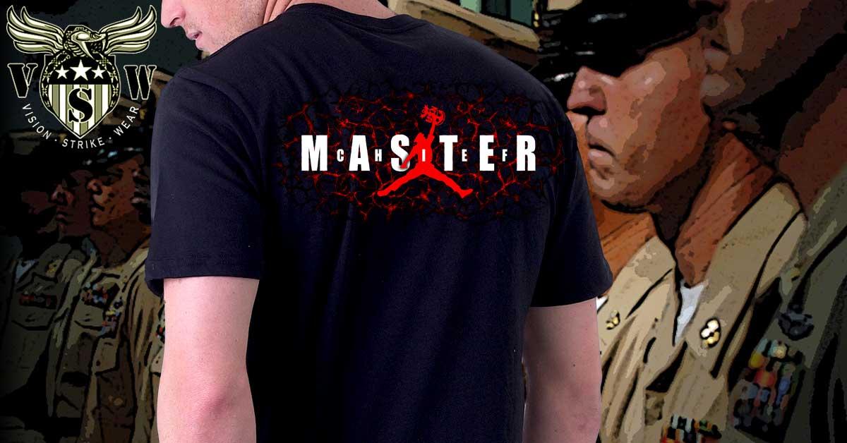Navy Master Chief Jordan Shirt