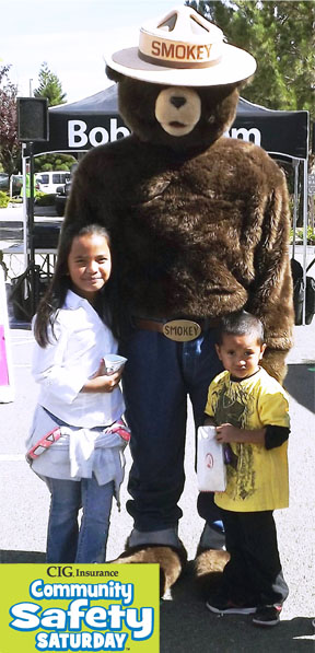 Smokey Bear at Free Family Safety Event