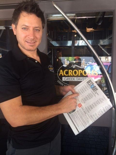 Acropolis Greek Taverna Plans Florida Expansion -- Acropolis