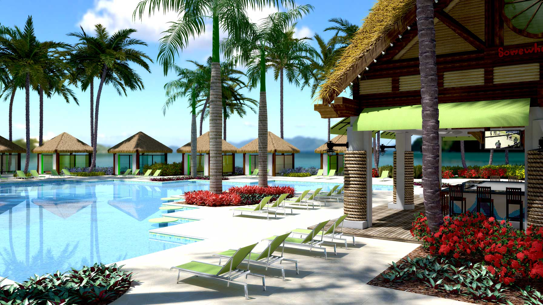 A Preview Of The New St Thomas Margaritaville Archiform